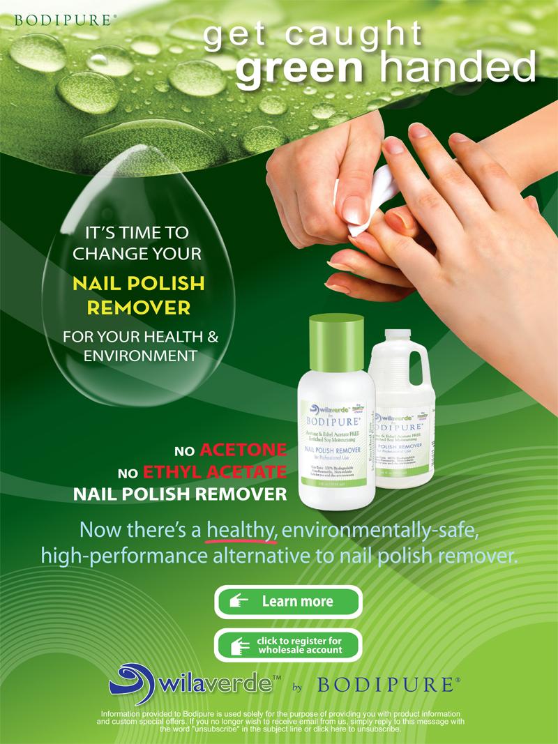 Acetone Free Nail Polish Remover - Bodipure Professional Spa
