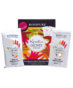 Keratin Gloves Double Pack Package