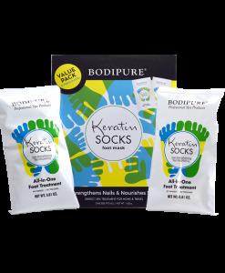 Keratin Socks Double Pack Package