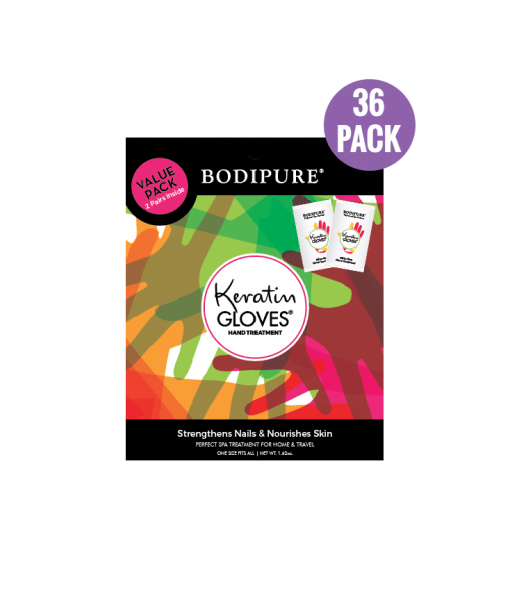Keratin Gloves 36 Double pack