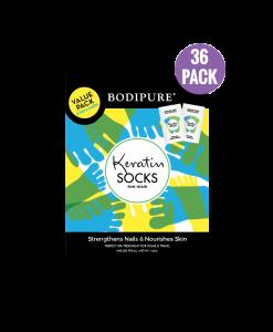 Keratin-Socks-36 Double-pack