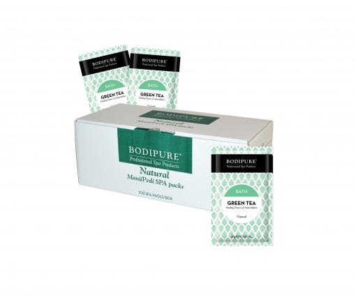 green tea – bath 100 pack