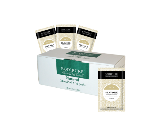 silky milk – bath 100 pack