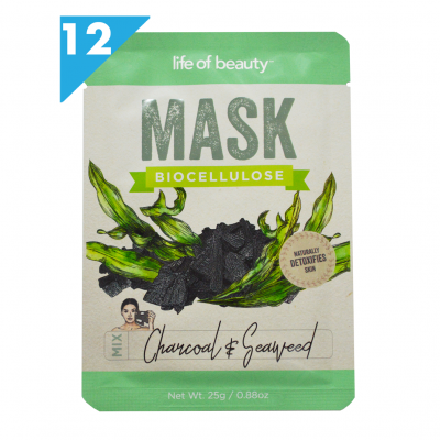 Charcoal and Seaweed Face Mask