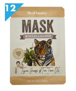 Tigger Grass and Tea Tree Face Mask