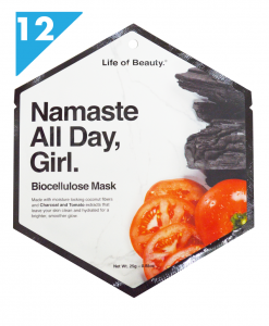 Tomato and Charcoal Face Mask